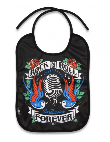 Babero Rock n Roll Forever