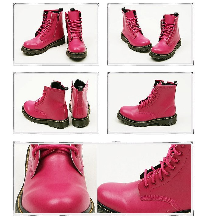 Botas Pink Punk