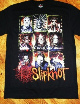 Camiseta Slipknot Face