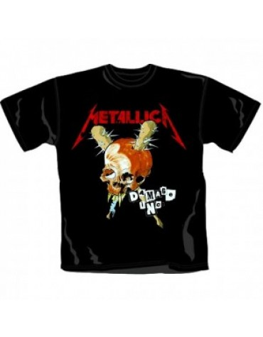 Camiseta Metallica Damage