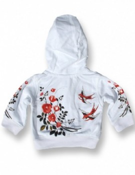 Sudadera Birds and Roses