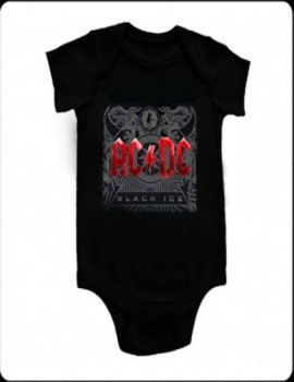 Body Ac/dc Black Ice Rojo mc
