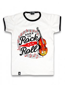 Camiseta Born to Rock and Roll