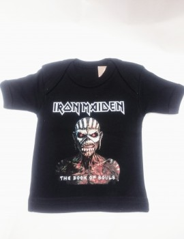 Camiseta Iron Maiden The Book