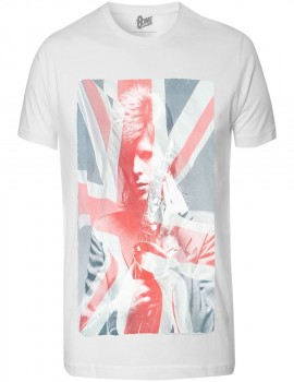 Camiseta Adulto David Bowie London