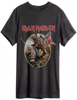Camiseta Amplified Iron Maiden Trooper men
